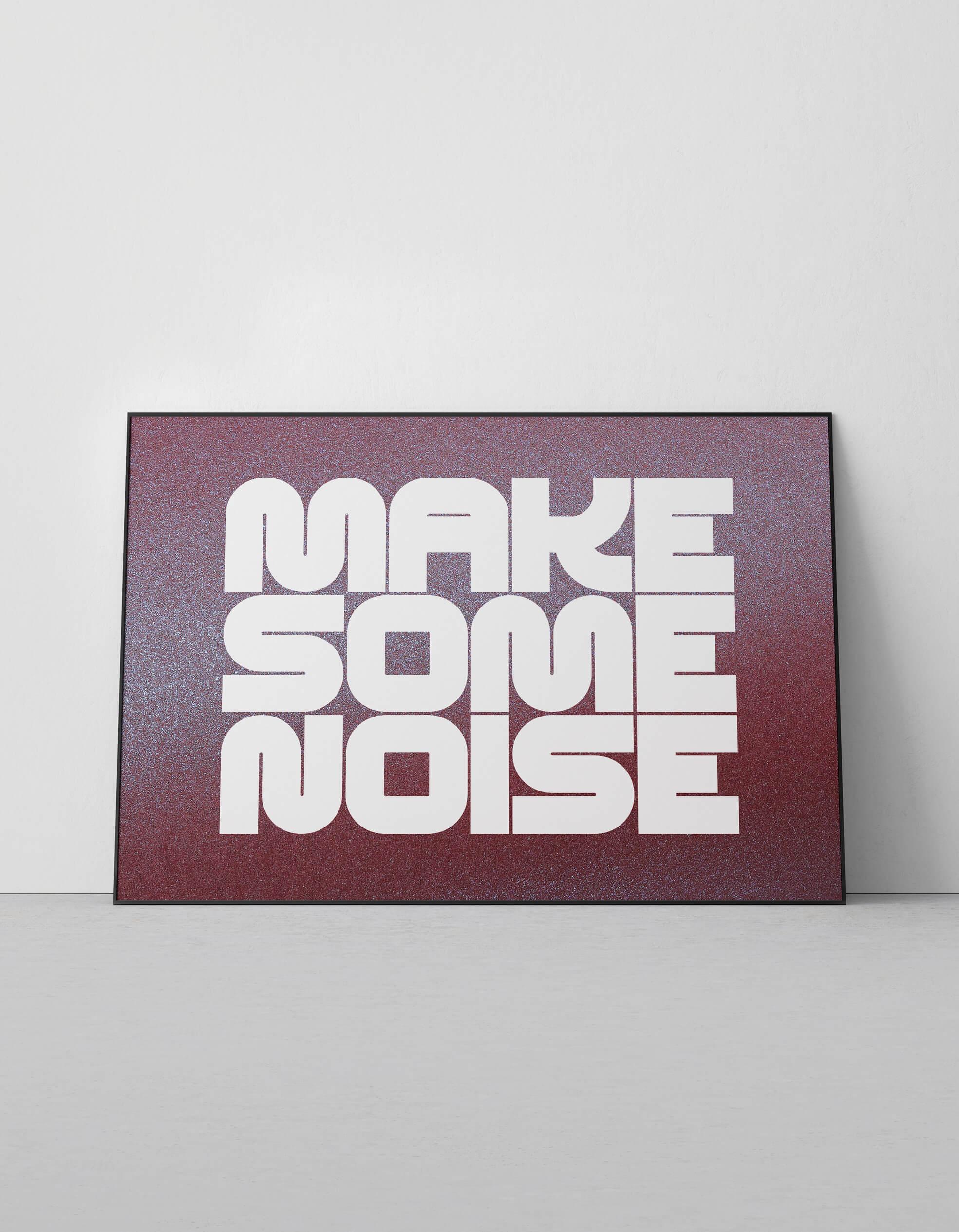 OFFICIAL_make_some_noise_nightclub_purple_screenprint_1