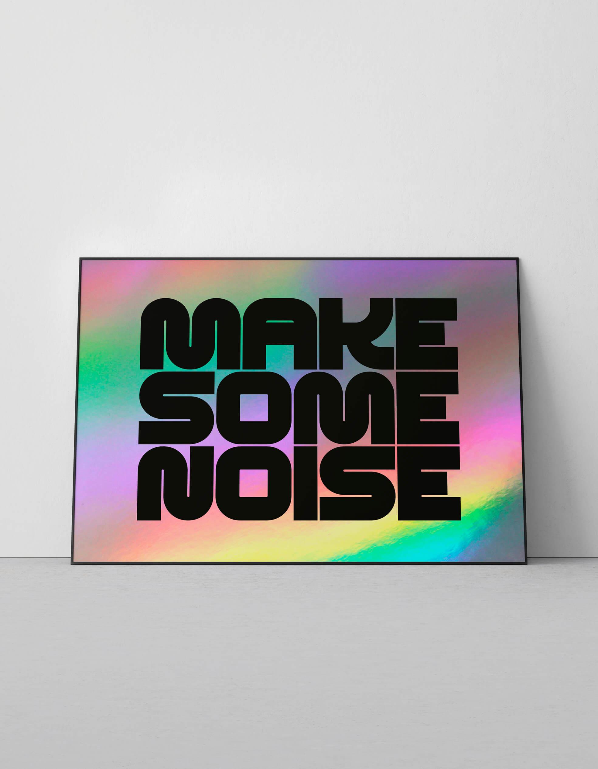 OFFICIAL_make_some_noise_reflective_screenprint_1